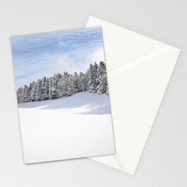 Charteuse Mountain2 Stationery Cards