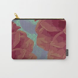 Survival of Flowers Carry-All Pouch