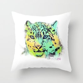 Leopard Mesmerize Throw Pillow