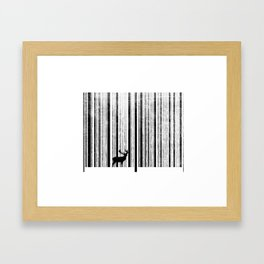 To scan a forest. Framed Art Print