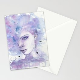 Above the Clouds Stationery Cards
