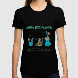 Snake Jazz T-shirt