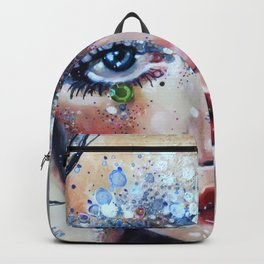 Beneath Crystal Waters Backpack