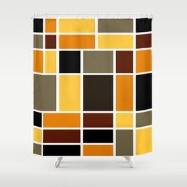 Mondrian #72 Shower Curtain