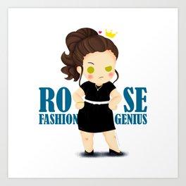 Rose - Chibi Version Art Print