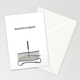 Acupuncture - Balance & Health Stationery Cards