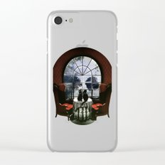 Room Skull Clear iPhone Case