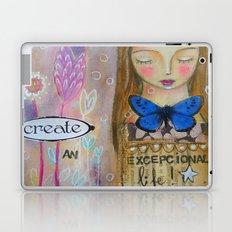 Create an amazing life - motivational art, inspirational art Laptop & iPad Skin