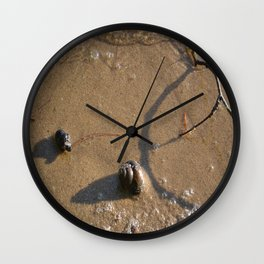 Sand & Serenity Wall Clock