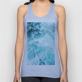 Perfect Sea Waves Unisex Tanktop