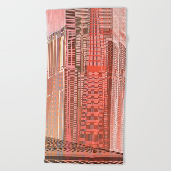 Pinky Space / URBAN 25-07-16 Beach Towel