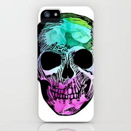 Boho Skull I iPhone Case