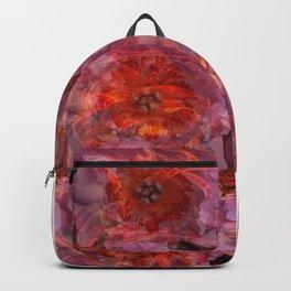 Fire Peonies Backpack