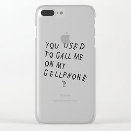 HOTLINE Clear iPhone Case