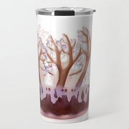 upside down jelly fish Travel Mug