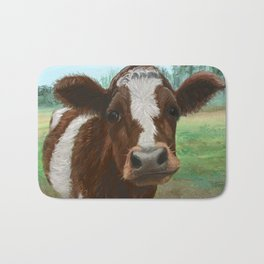 How Now Brown Cow Bath Mat