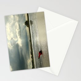 River Scene Stationery Cards