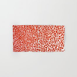 African American Masterpiece Alma Thomas, Red Azaleas Singing and Dancing Rock and Roll Music Hand & Bath Towel