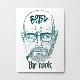 The Cook Metal Print