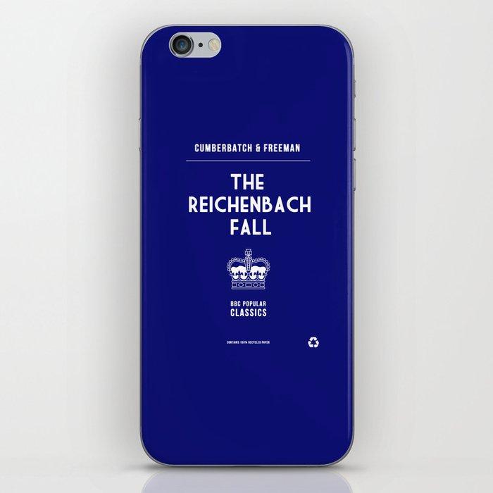 BBC Sherlock The Reichenbach Fall Minimalist Poster iPhone Skin