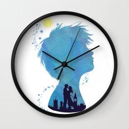 I am Finding Neverland Wall Clock