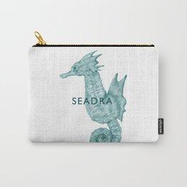 Cyan Seadra Carry-All Pouch