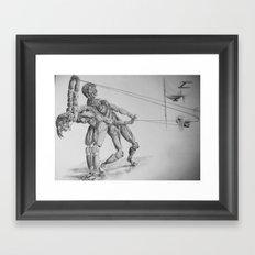 Automa VI, VII Framed Art Print