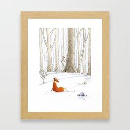 Redfox Framed Art Print