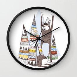 El Cazador y la Serpiente. Wall Clock