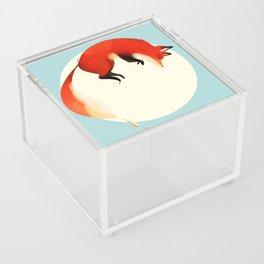 Fox jump Acrylic Box
