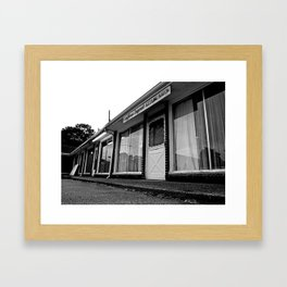 Empty salon Framed Art Print