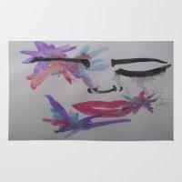 splatter Area & Throw Rugs featuring Splatter. by TheArtOfFaithAsylum