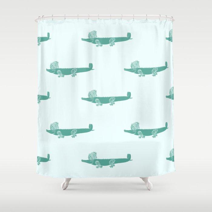Croc Shower Curtain