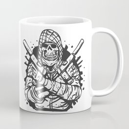 Military skull with guns Coffee Mug
