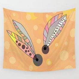 FLOWERY THELMA / ORIGINAL DANISH DESIGN bykazandholly Wall Tapestry