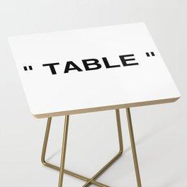 """ Art "" Side Table"