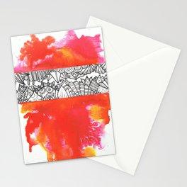 Red Splash Stationery Cards