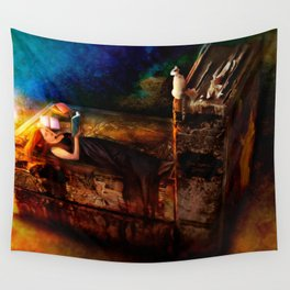 Ex Libris - A Book Lover's Dream Wall Tapestry