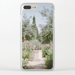 Garden at Gethsemane - Holy Land Fine Art Film Photography Clear iPhone Case