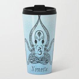 Paisley Yoga Octopus Namaste Travel Mug