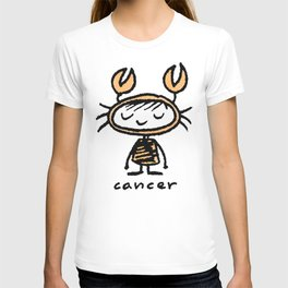 crabby cancer cutie pie T-shirt