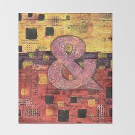 Journey by Number: Ampersand Throw Blanket