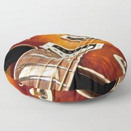 Sunburst Electric Guitar Floor Pillow