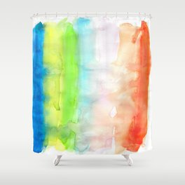 Chromatography 3 Shower Curtain