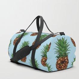 Pineapple Persian Cat Duffle Bag