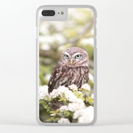 Chouette nature Clear iPhone Case