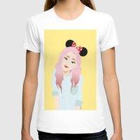 minnie T-shirts featuring Minnie Ears by lulu ramos