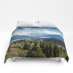 Mountain Landscape # sky Comforters