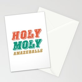 HOLY MOLY AMAZEBALLS Stationery Cards