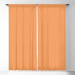 Asymmetrical Glow ~ Apricot Blackout Curtain